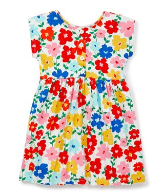 900b731731a ... Dress - Toddler   Girls · Hanna White Floral It s a Playdress