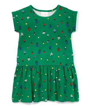 3325166cd6 Go Green Floral Spring into Sunshine Play Dress - Toddler   Girls