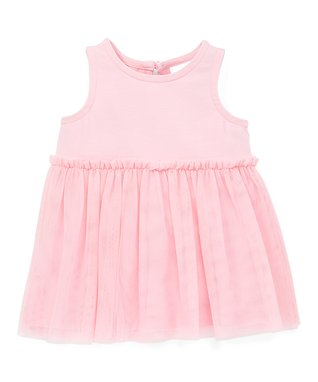 bf810def666 Rose Pink Soft Tulle Dreamy Dress - Infant   Toddler