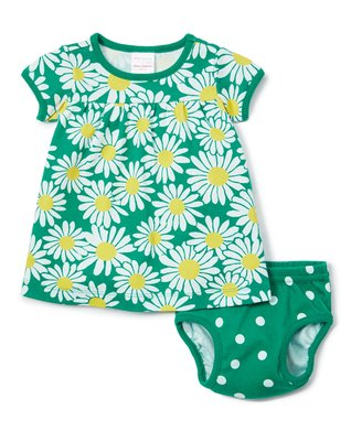 58633bc2728 Go Green Daisy Dress   Diaper Cover - Infant   Toddler