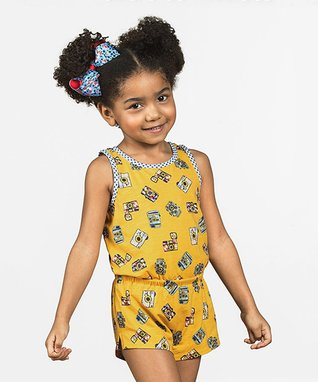 d93a6cfc082 Yellow Cameras Snapshots of You Romper - Toddler   Girls