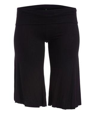 edd268cf8d9 Black Gaucho Pants - Women   Plus