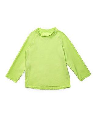 5e9464374 Green Long-Sleeve Rashguard - Infant, Toddler & Kids