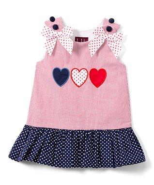 Girls LIL CACTUS pink boutique sundress 5 NEW seersucker owl applique dress