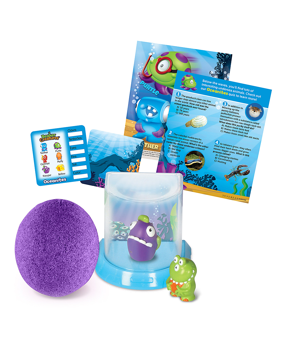 Learning Resources® Beaker Creatures™ Magnification & Bio-Home Set