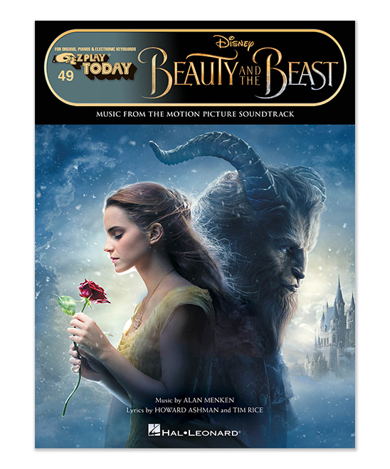 Beauty & the Beast Song Book Sheet Music