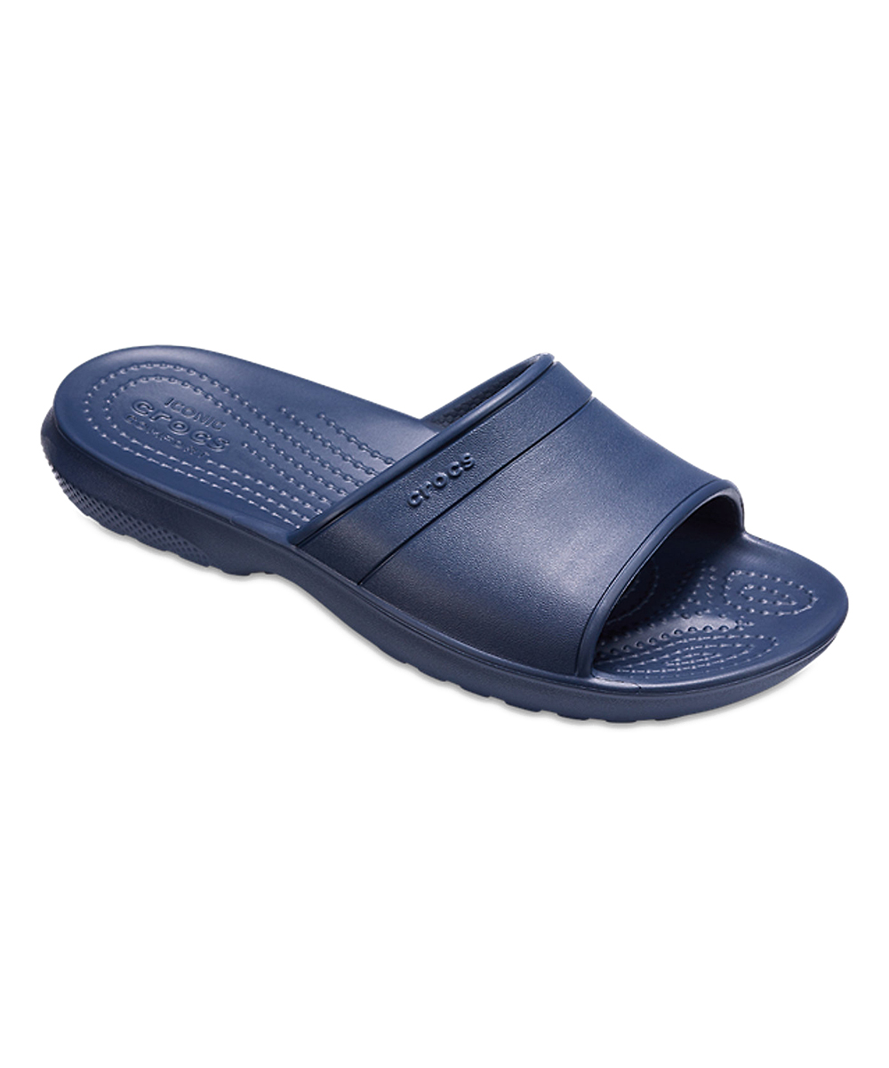 25707d33b2 Crocs Navy Classic Slide - Kids