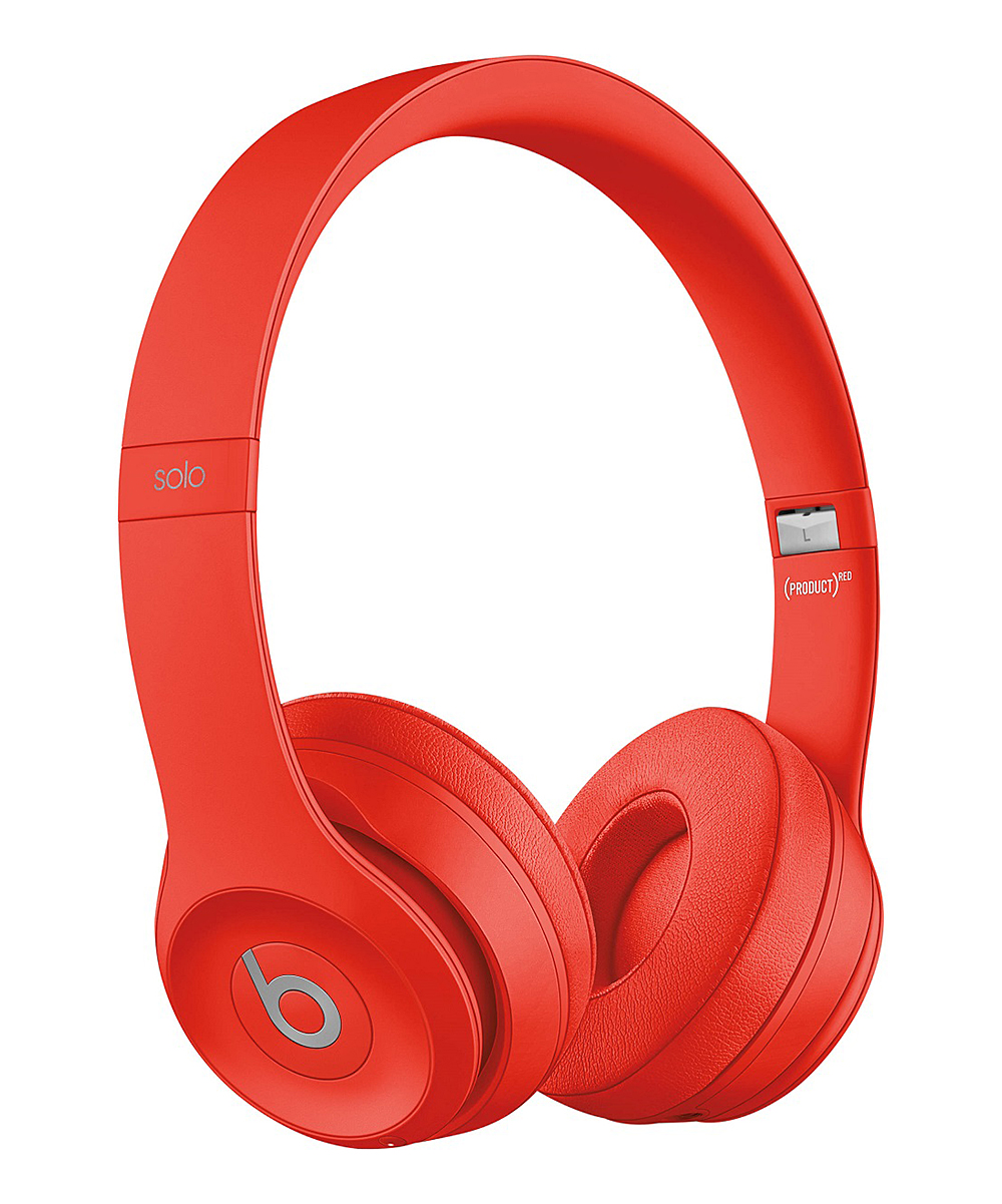 Red Solo3 Wireless On-Ear Headphones