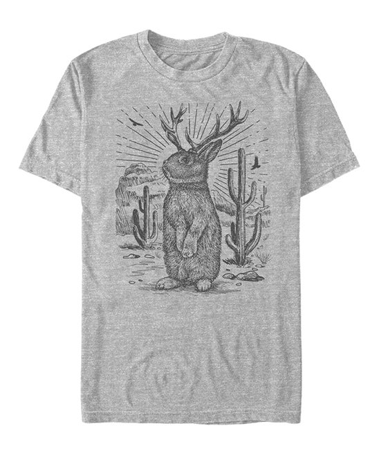 Athletic Heather Jackalope Legend Has It Tee - Men