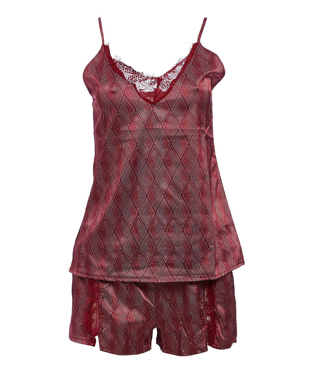 6da0cb3a30de NANETTE Nanette Lepore Raspberry Sleep Shorts Set - Women