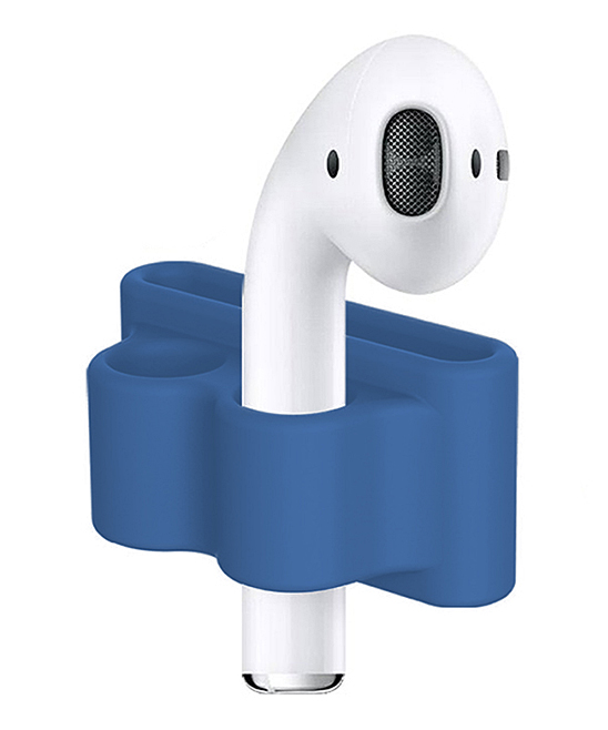Blue Anti-Lost AirPod Holder Blue Anti-Lost AirPod Holder. Keep track of your wireless AirPods with the help of this handy holder that can fit on a watch strap for added convenience. AirPods not includedSiliconeCompatible with Apple AirPods onlyImported