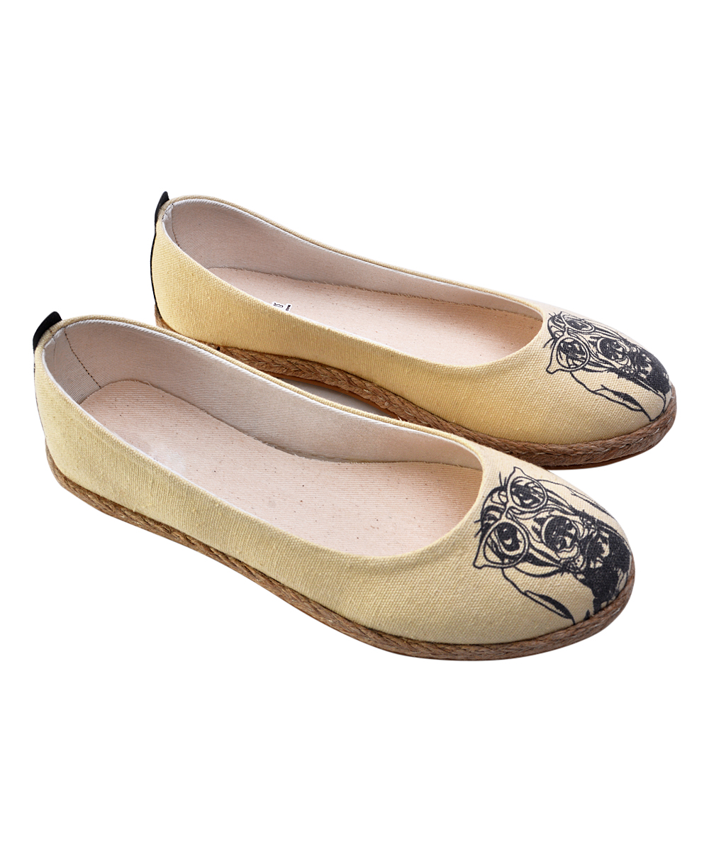 Glasses Hound Color It Ballet Flat - Women Glasses Hound Color It Ballet Flat - Women. Step into custom style with this uniquely printed pair ready for you to color in however you like. Markers not includedCanvas upperMemory foam / cotton footbedMan-made soleImported