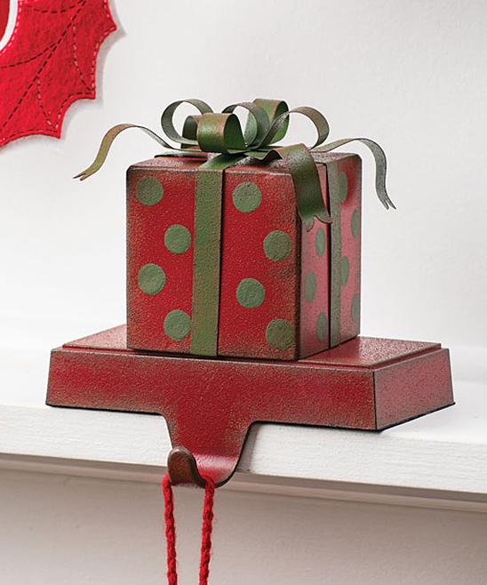 Sullivans Decor  Holiday Stockings RE - Gift Box Stocking Holder