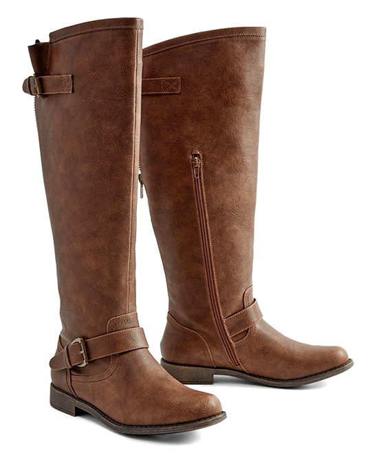 391a17cb5e5 ... Womens Brown Brown Bayley Wide-Calf Boot - Alternate Image 2 ...