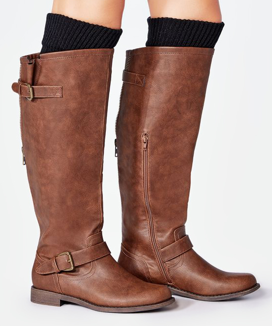0dc9a9accbd ... Womens Brown Brown Bayley Wide-Calf Boot - Alternate Image 5