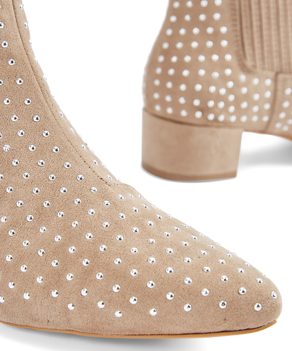 a6eeef64c2 ... Womens Taupe Taupe Jenna Bootie - Alternate Image 4