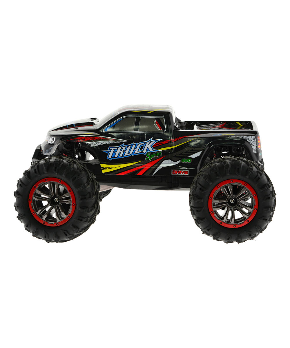 CIS Associates  Remote Control Toys Red - Orange 4WD Monster Truck Remote Control Toy