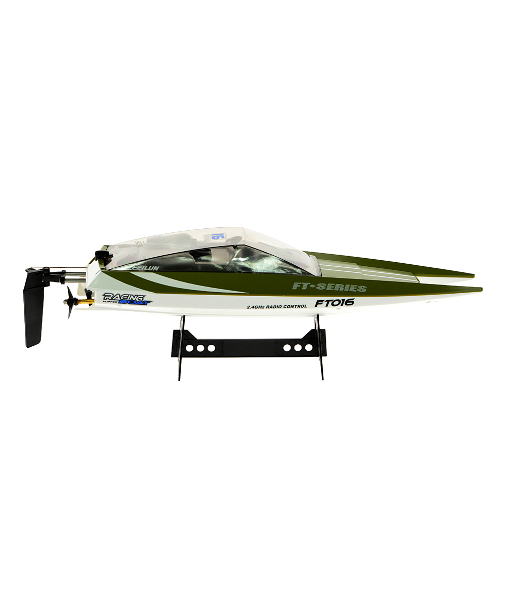 CIS Associates  Remote Control Toys Green - Green Speed Boat Remote Control Toy