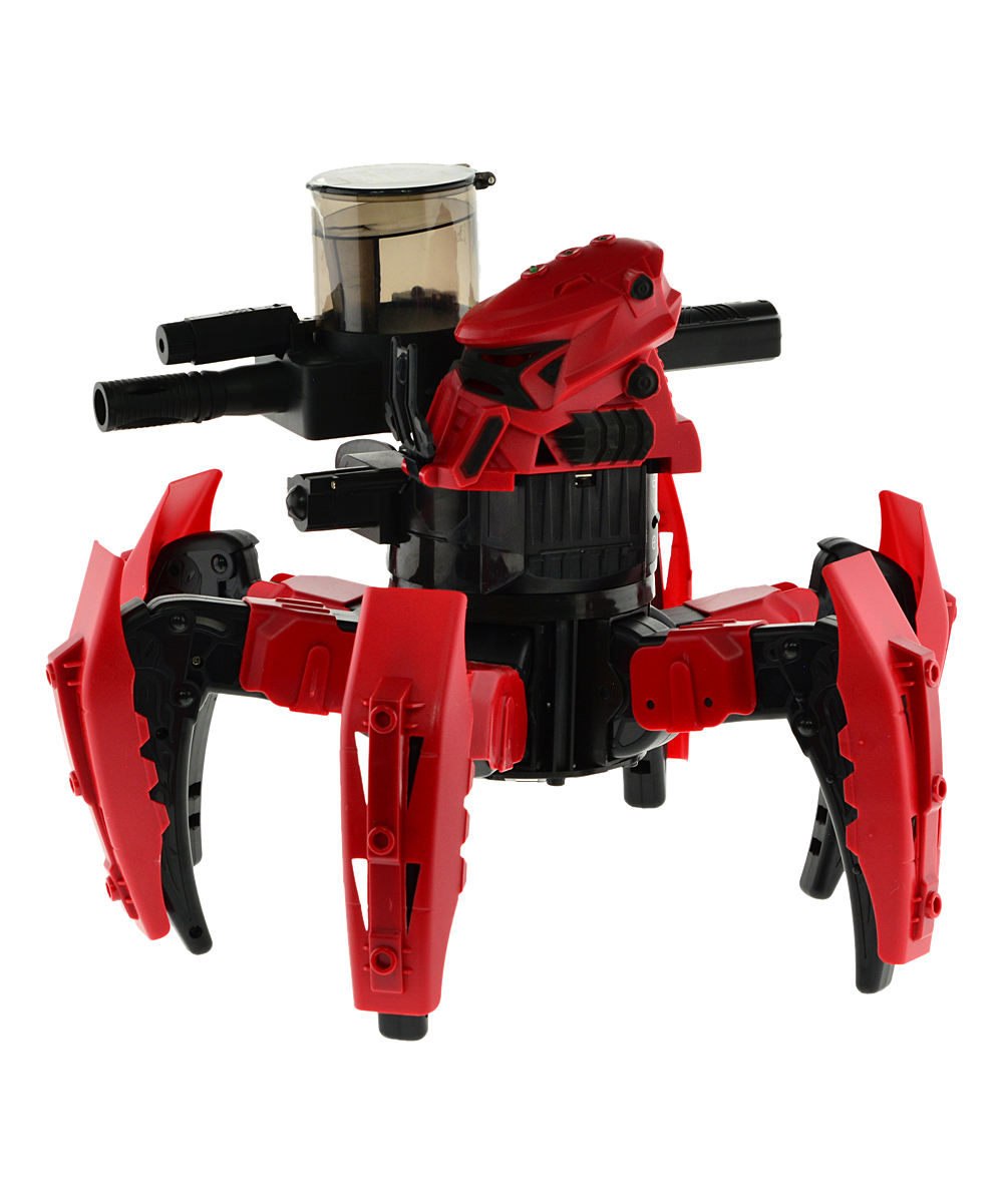 CIS Associates  Remote Control Toys Red - Red Spider Attacknid Ball Shooter Remote Control Toy