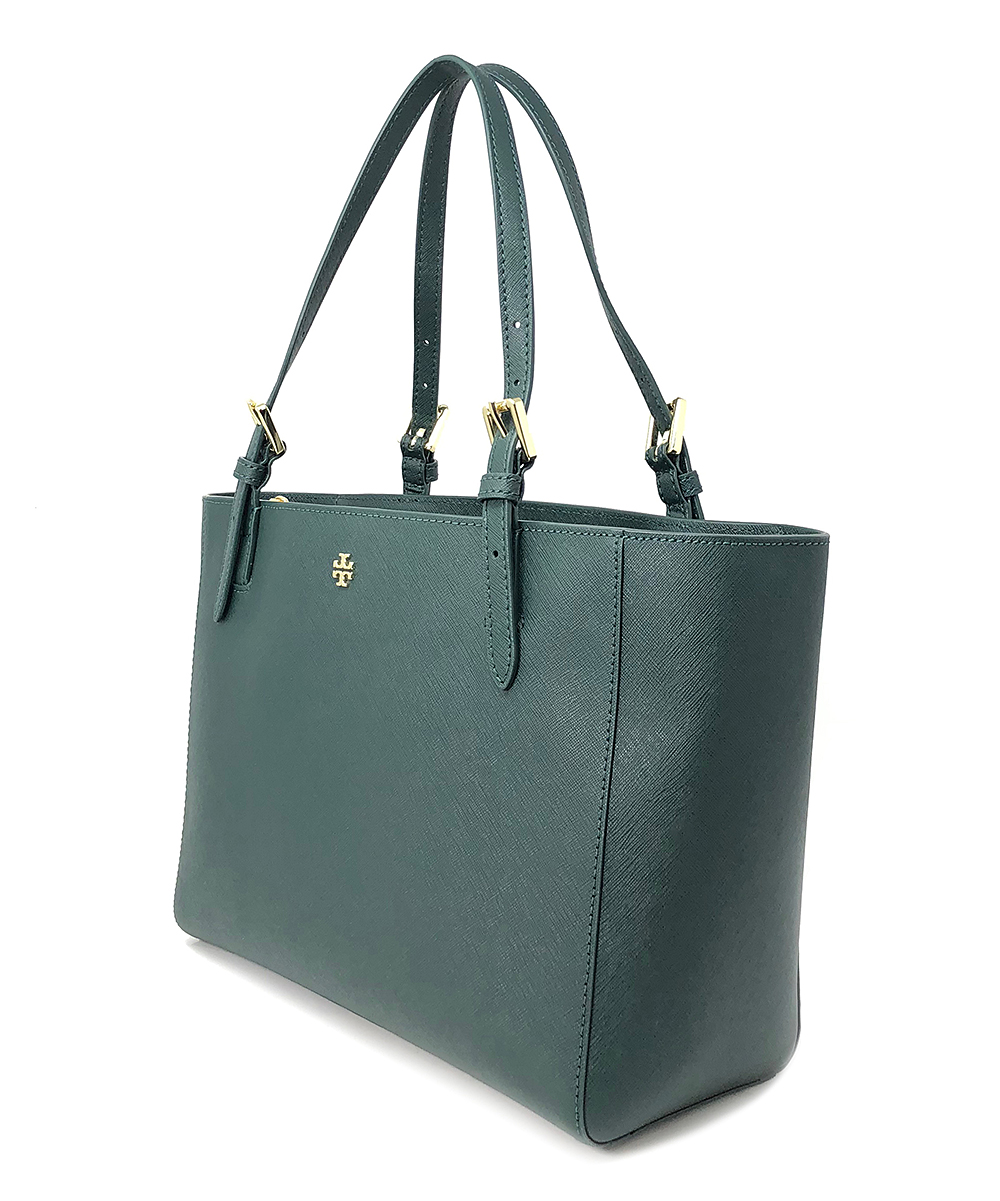 0e8607d79e91 ... Womens Jitney Green Jitney Green Emerson Small Buckle Saffiano Leather  Tote - Alternate Image 3 ...