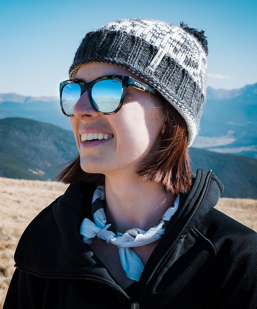 4037ec2dec ... Womens ABALONE Abalone Leigh Polarized Sunglasses - Women - Alternate  Image 2