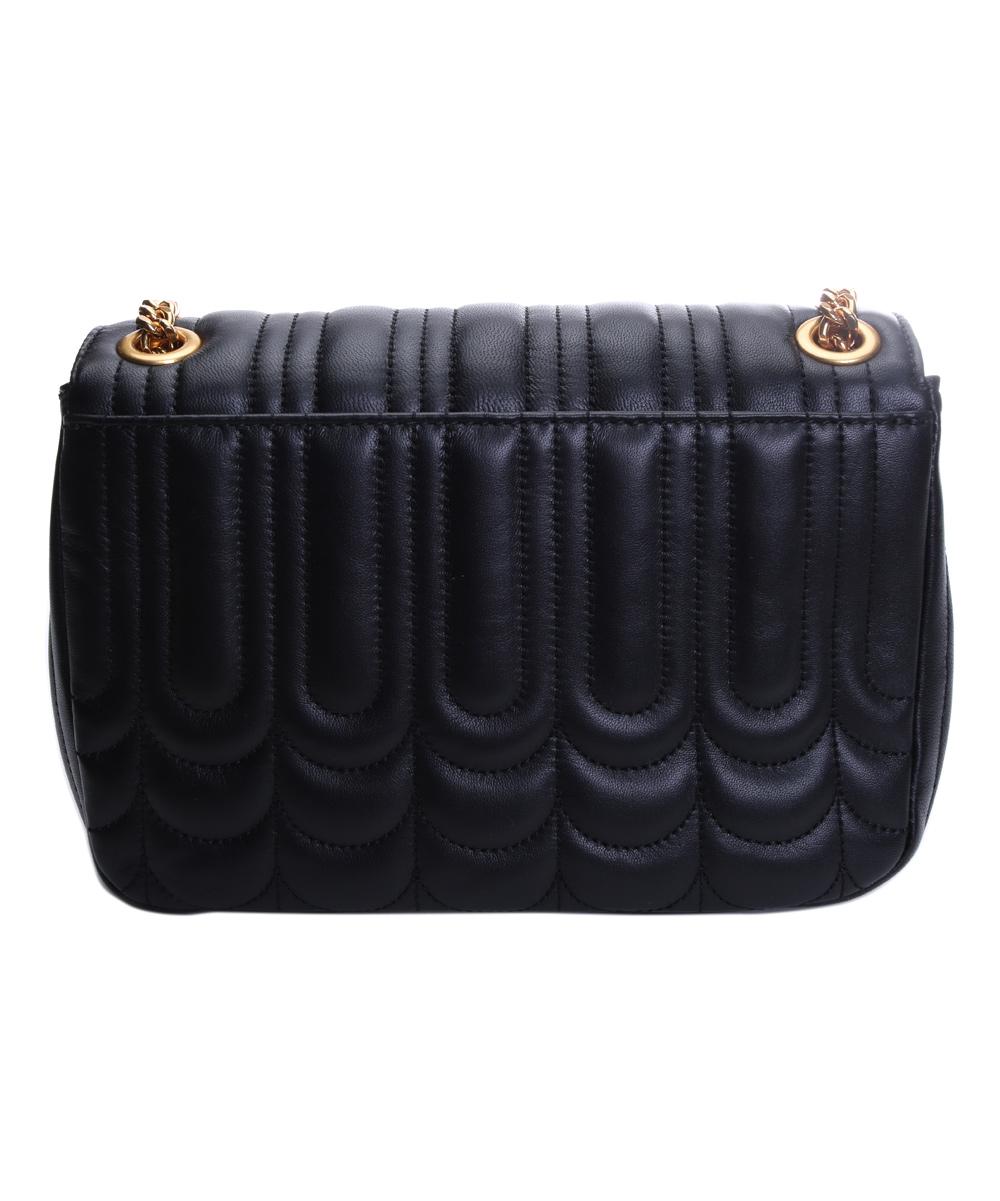 d2dc93d834fb Michael Kors Black Vivian Medium Flap Leather Crossbody Bag | Zulily