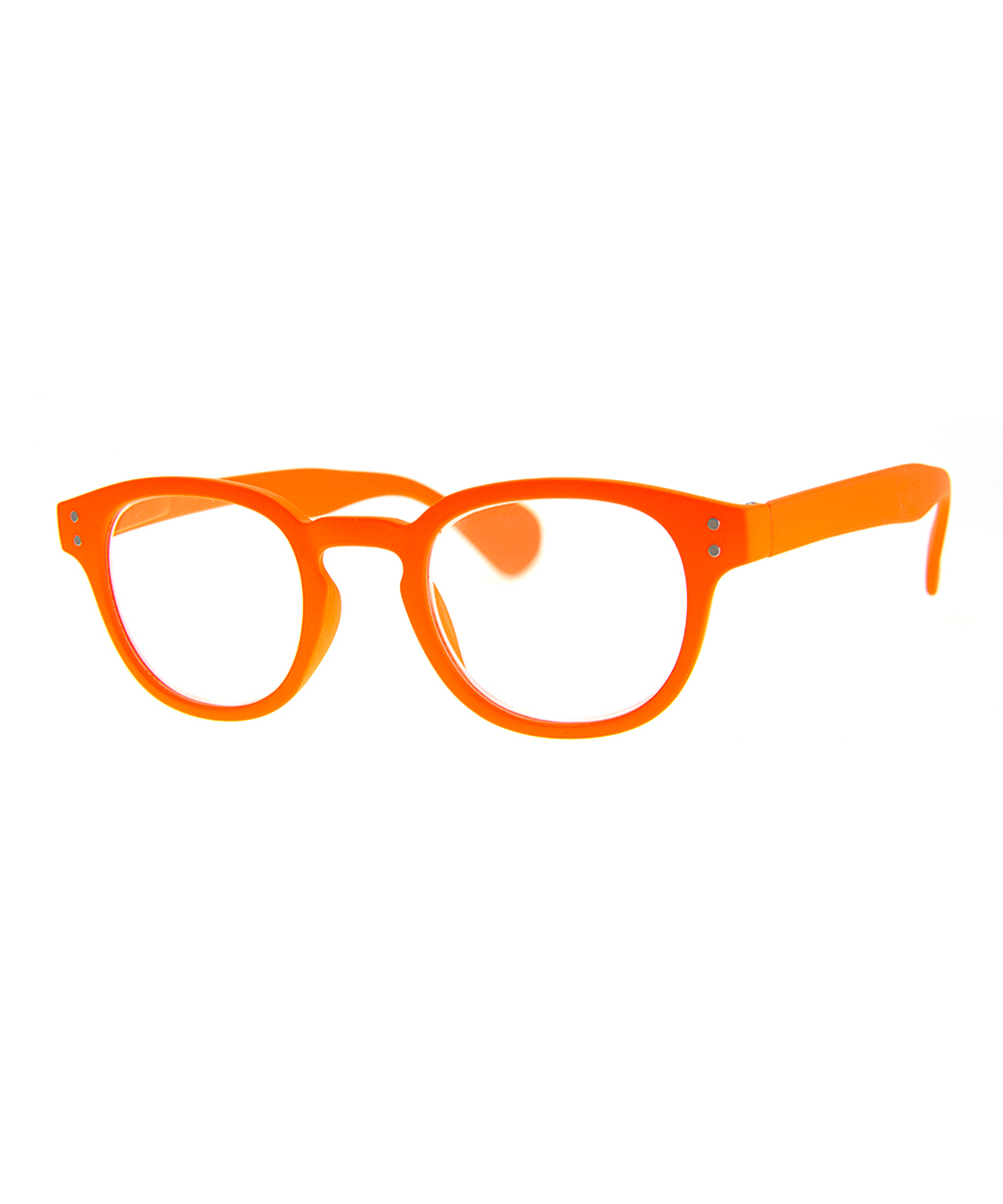 Orange Here N Now Oval Readers