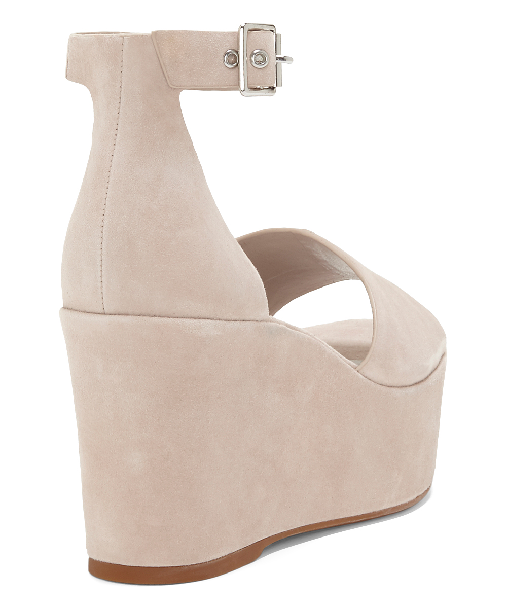 3b9f208a52a ... Womens TIPSY TAUPE Tipsy Taupe Korista Suede Wedge Sandal - Alternate  Image 2 ...
