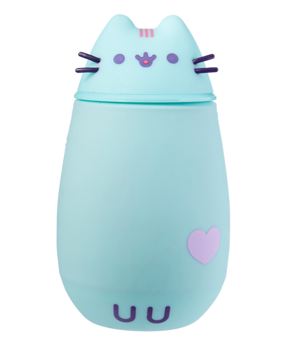 Pusheen Mint Pastel Thermos Pusheen Mint Pastel Thermos. Take your favorite drink to go in adorable style thanks to this durable thermos crafted in the shape of a precious Pusheen character. Hand washImported
