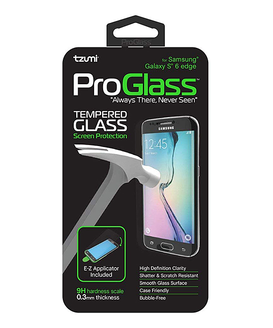 Samsung Galaxy S6 Edge ProGlass Tempered Glass Screen Protector