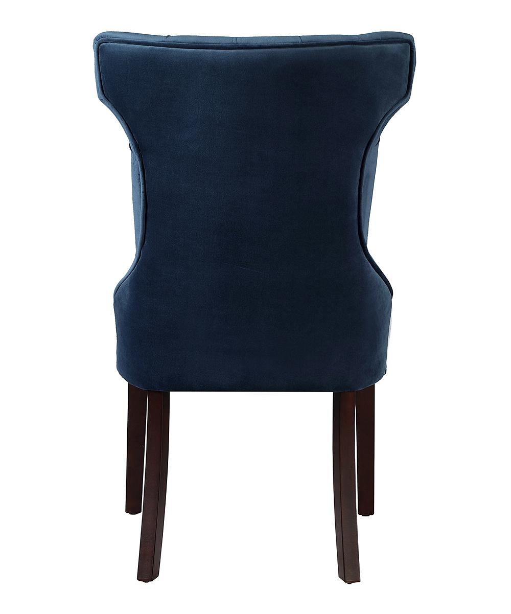 a2d8abdf12 ... Navy Navy Morgan Velvet Side Chair - Set of Two - Alternate Image 3 ...