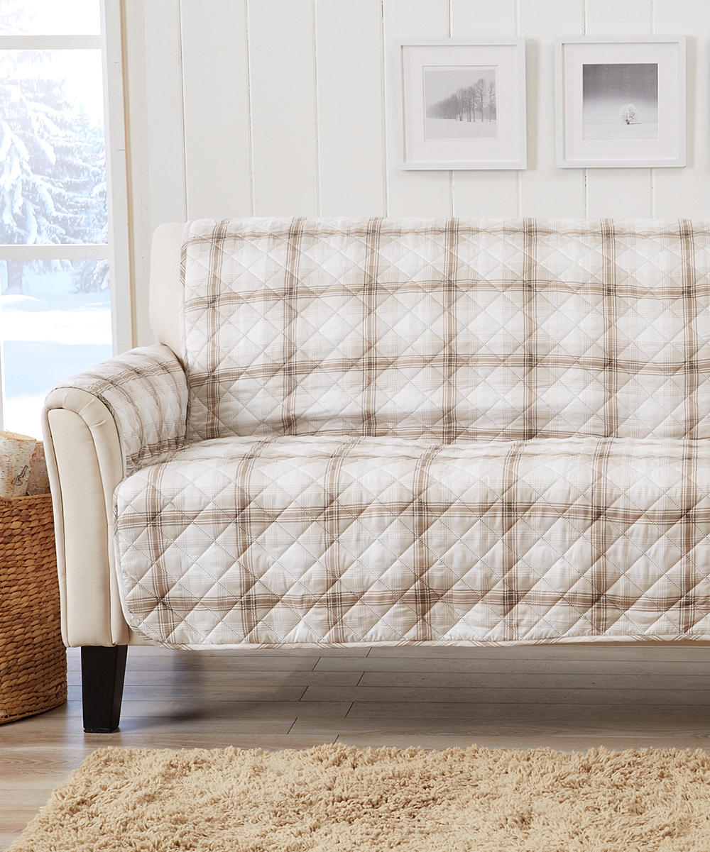 Home Fashion Designs Taupe Plaid Furniture Protector on eddie bauer home furniture, hautelook home furniture, macy's home furniture, target home furniture, adobe home furniture, lands' end home furniture, kmart home furniture, lego home furniture, nautica home furniture, jcpenney home furniture, gilt home furniture, walmart home furniture, nike home furniture, sears home furniture, orvis home furniture, lowe's home furniture,