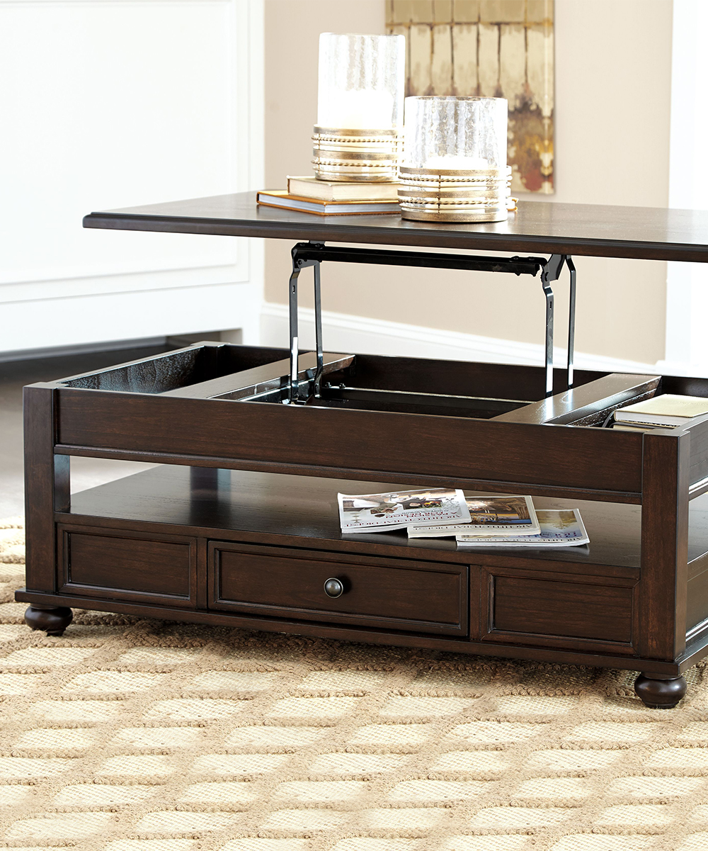 Pop Up Coffee Table.Signature Design By Ashley Furniture Barilanni Lift Top Coffee Table
