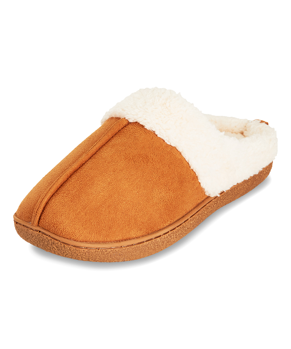 22d8e0feb28 love this product Chestnut Faux Fur-Lined Clog Slipper - Women