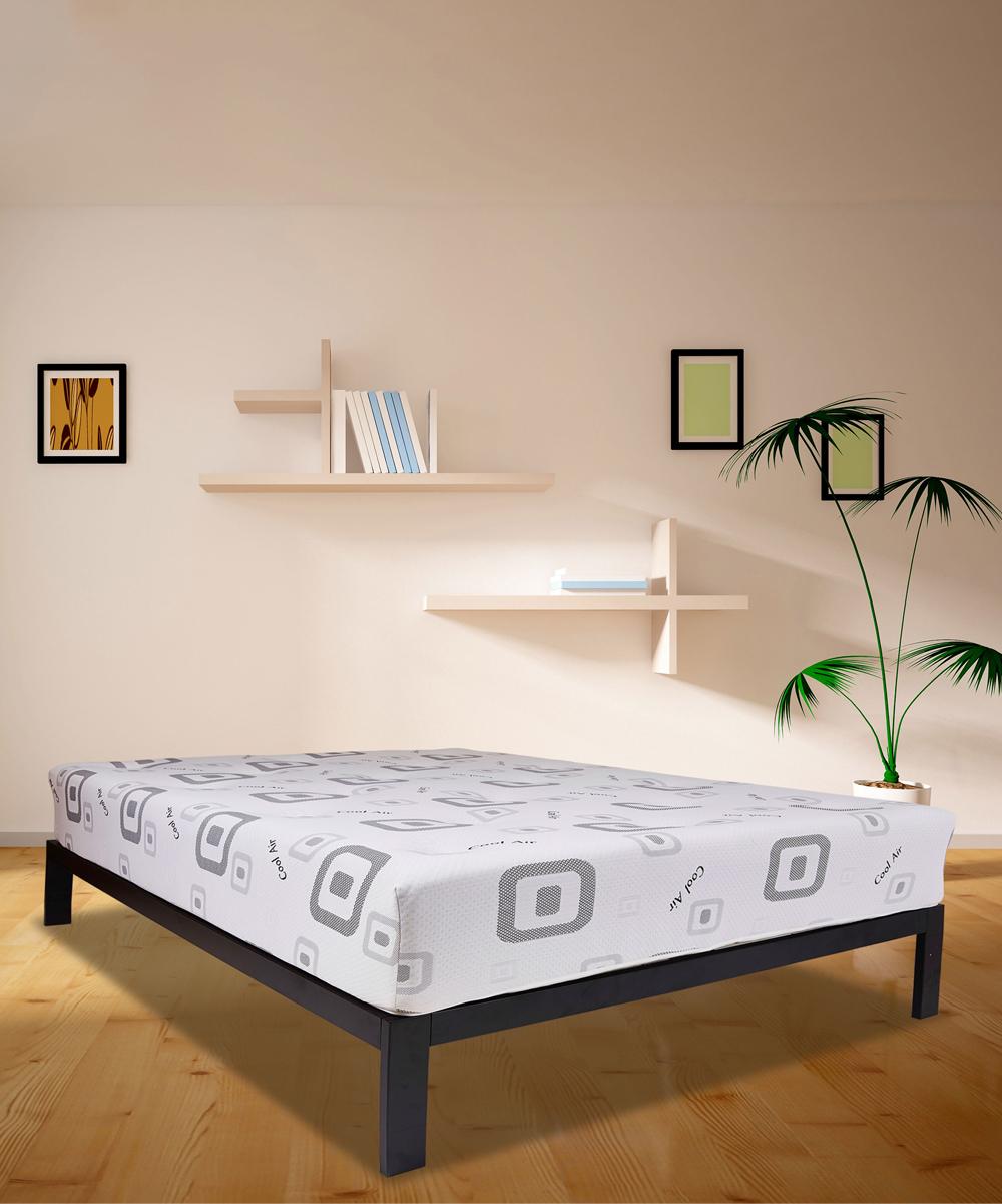 ... White and Black White   Black Composure Hybrid Bed-in-a-Box Mattress ... 02efac06b0