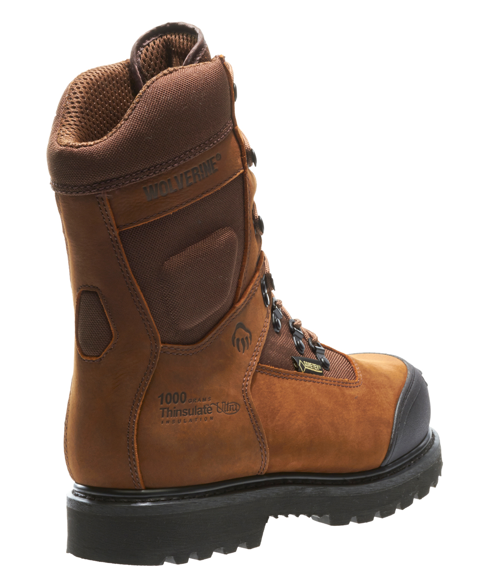 79cb1cd6bac Wolverine Brown Big Sky Composite Toe Leather Work Boot - Men