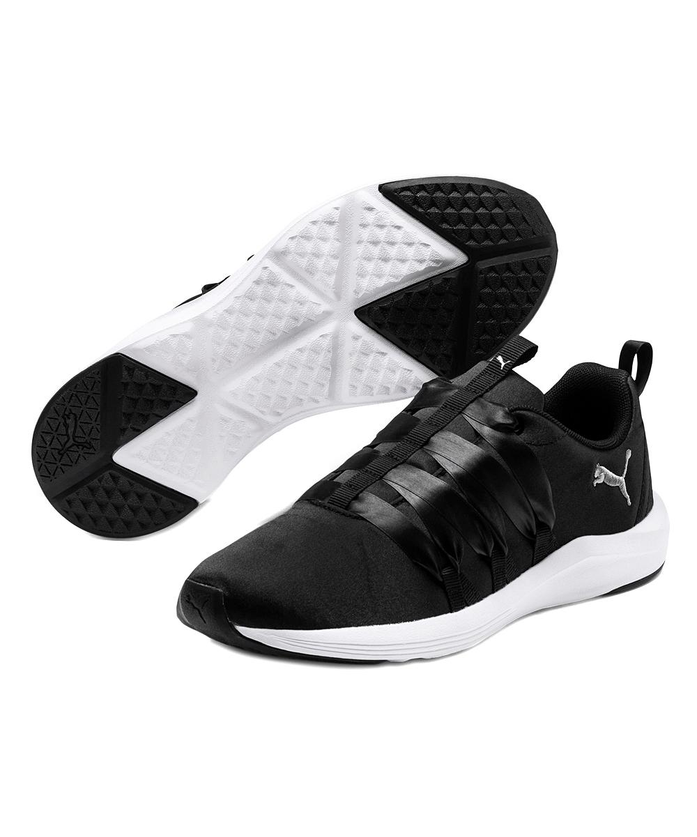 Black   White Prowl Alt Satin Sneaker - Women. Womens Puma ... 82e984cc1