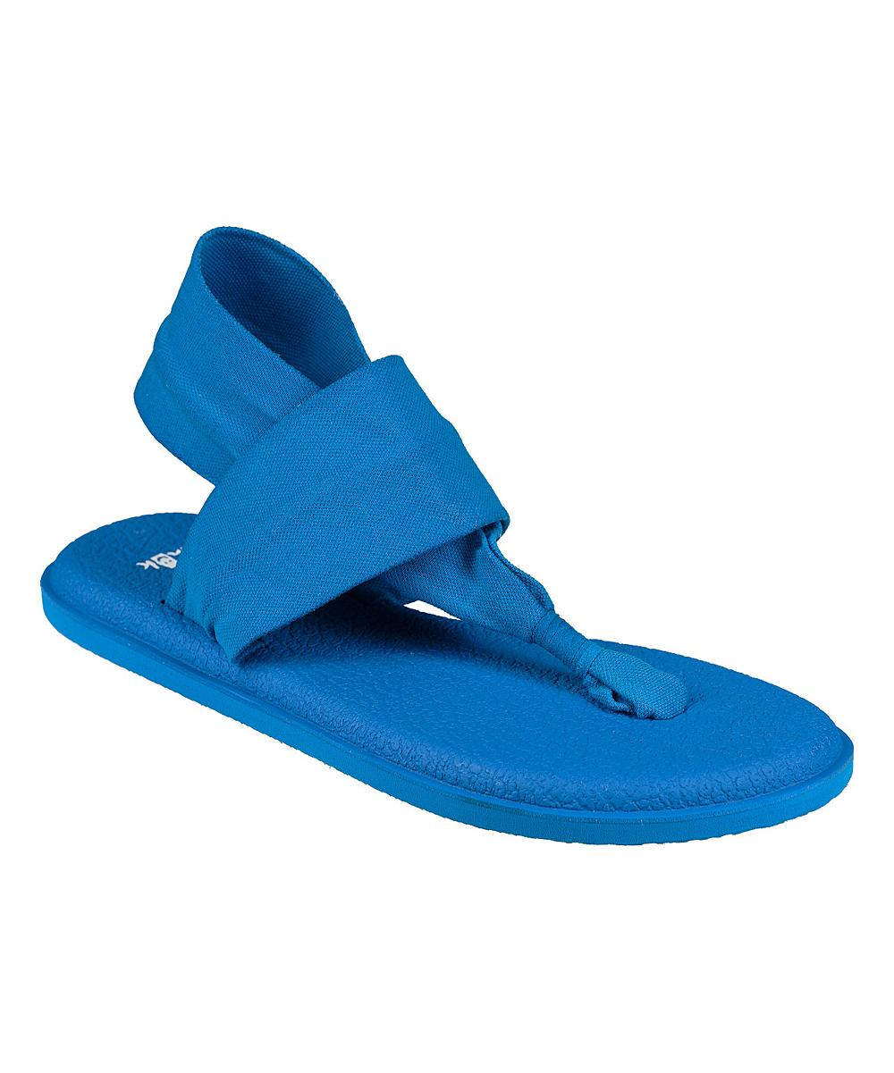 Sanuk Indigo Bunting Yoga Sling 2 Spectrum Sandal - Women  0be8a4a8dda