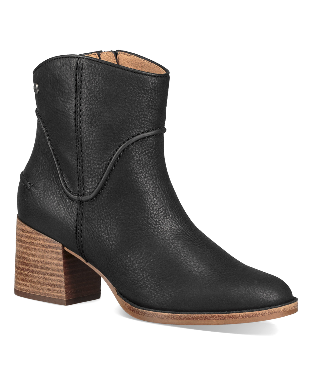 f5bca53fbdc UGG® Black Annie Leather Boot - Women