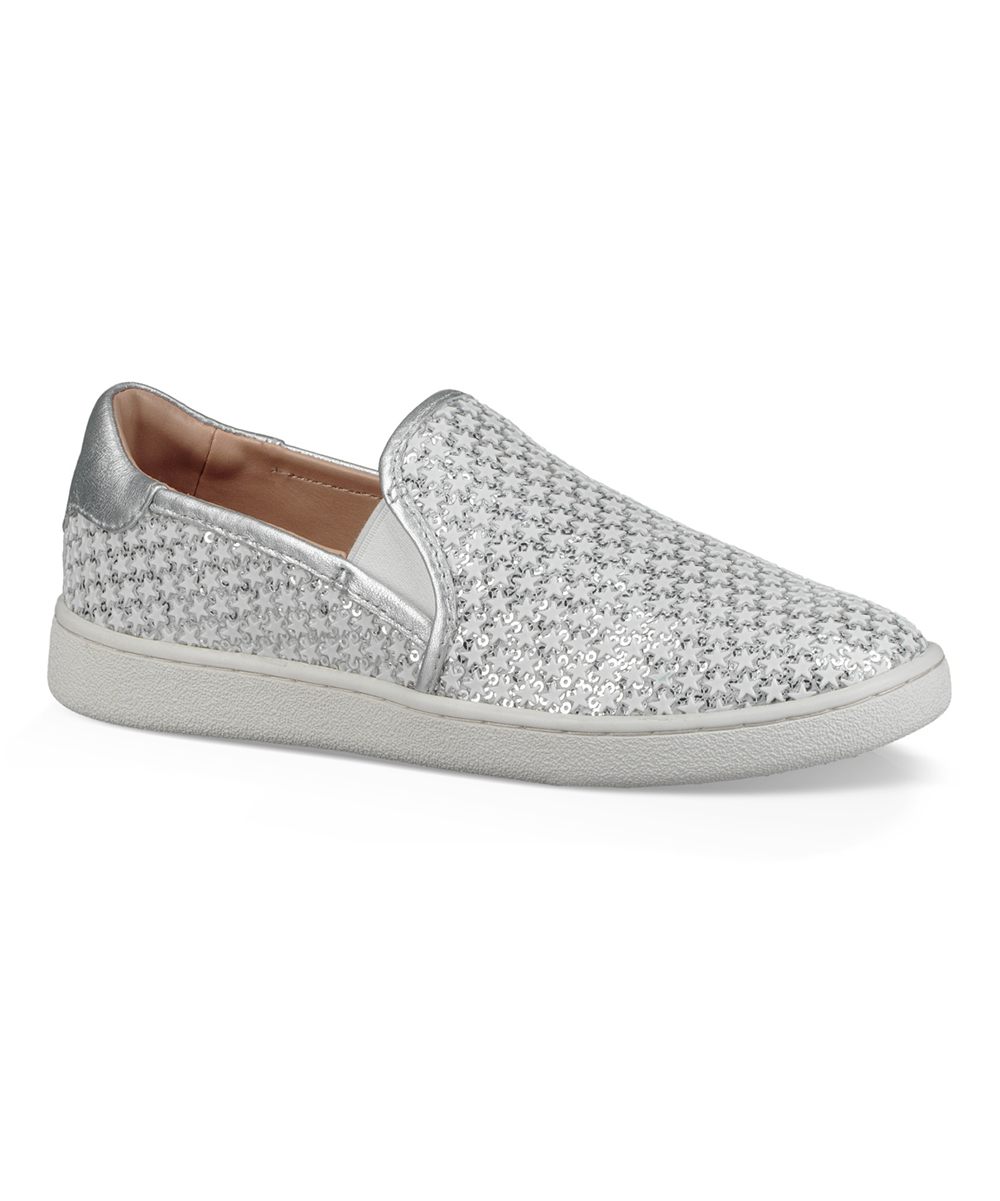 b400d33350d UGG® Silver Glitter Cas Leather Slip-On Sneaker - Women