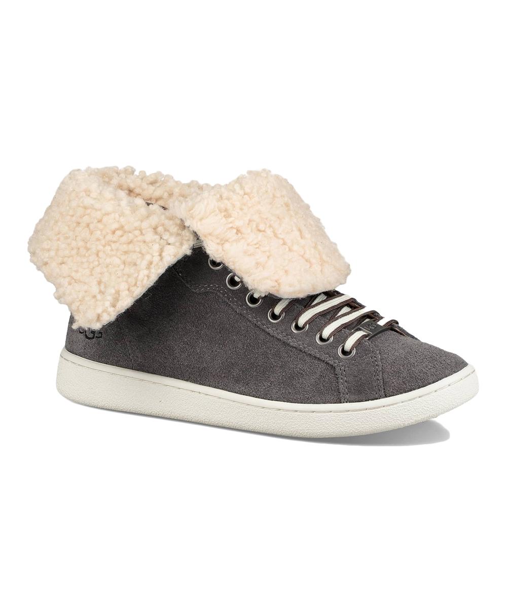 376e01d1a5f UGG® Charcoal Starlyn Suede Sneaker - Women