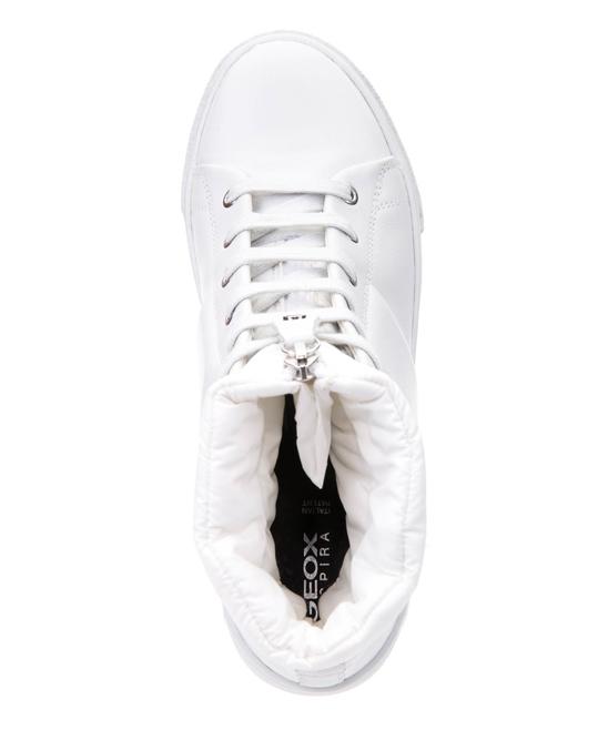 de8c61258bf ... Womens WHITE White Mayrah Leather Hi-Top Sneaker - Alternate Image 4 ...