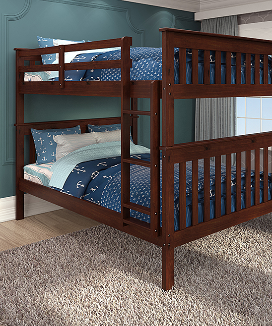 Donco Kids Cappuccino Mission Full Bunk Bed Zulily