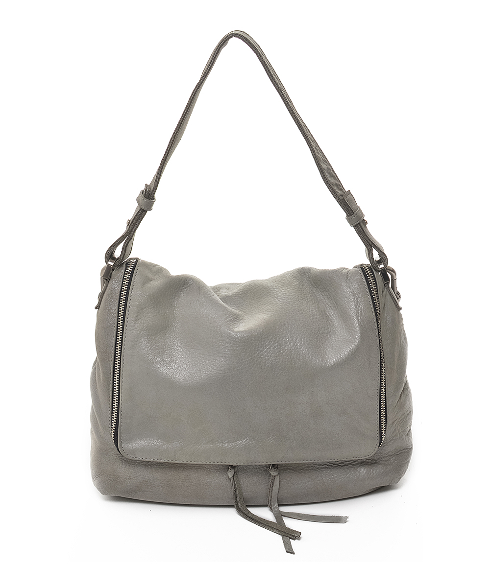 868a7609792f8 all gone. Silver-Gray Arielle Leather Crossbody Bag · Womens Silver Grey ...