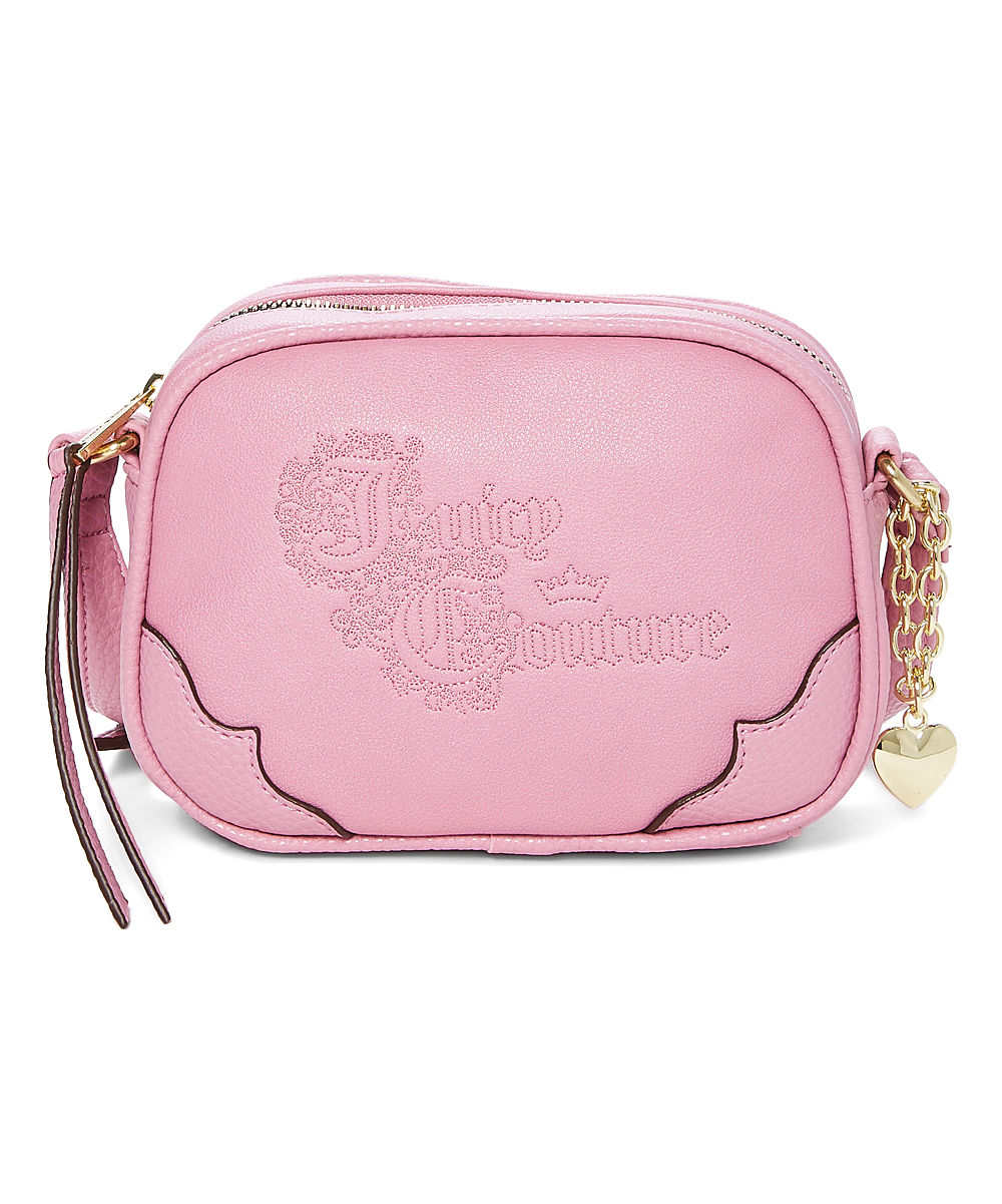 Juicy Couture Pink Once Upon A Time Mini Crossbody Bag  dd1291140