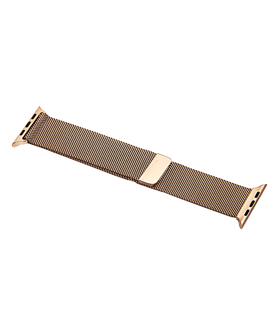 QRTZ Women's Replacement Bands rose - Rose Gold Stainless Steel Band for Apple Watch
