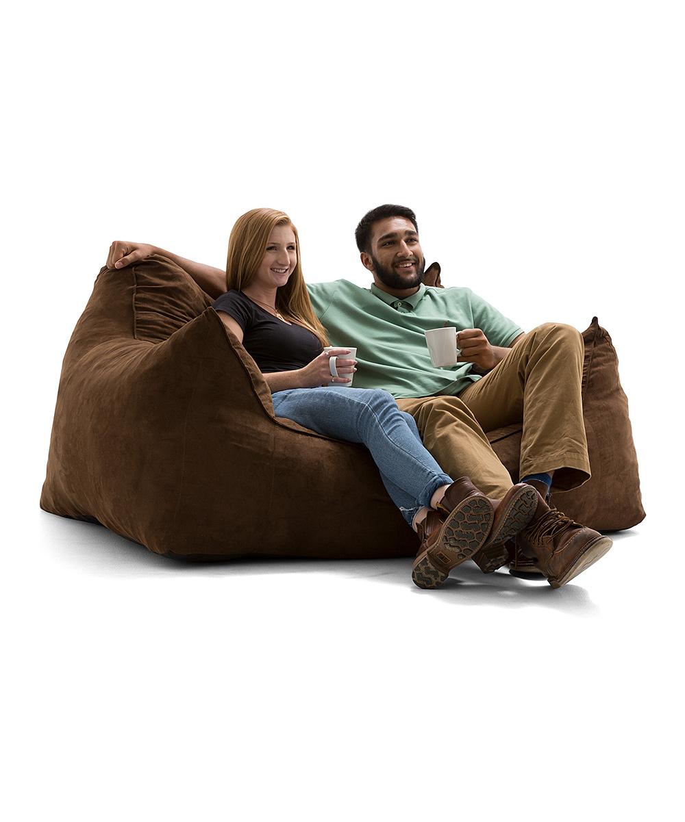 Brown Big Joe Imperial Fufton Bean Bag Chair