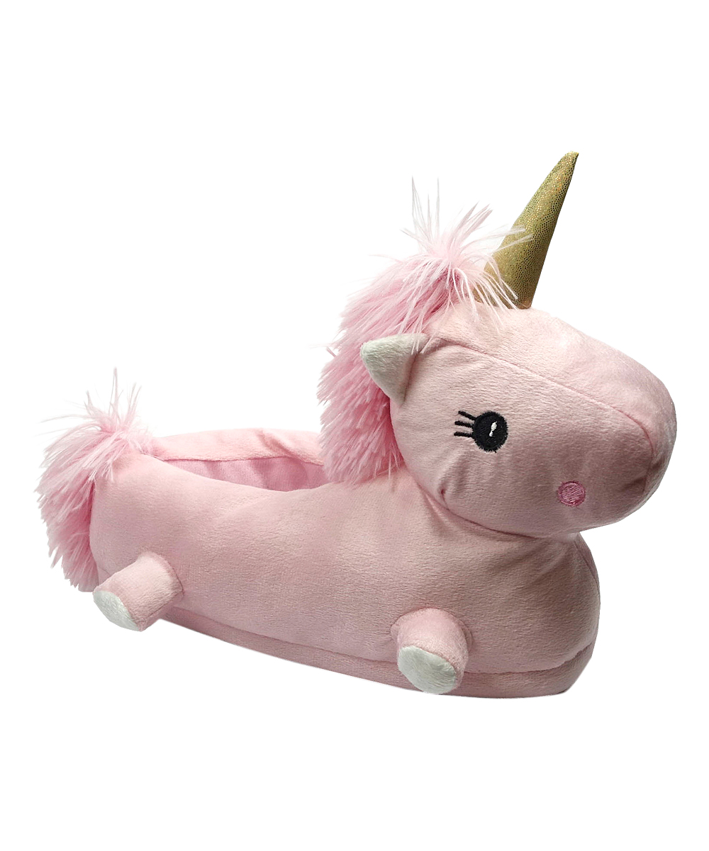 7c8243f2a0e Shoe Box Trading Pink Unicorn Slipper - Girls