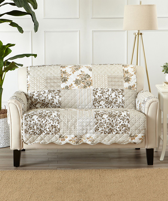 Home Fashion Designs Taupe Patchwork Scalloped Furniture Protector on eddie bauer home furniture, hautelook home furniture, macy's home furniture, target home furniture, adobe home furniture, lands' end home furniture, kmart home furniture, lego home furniture, nautica home furniture, jcpenney home furniture, gilt home furniture, walmart home furniture, nike home furniture, sears home furniture, orvis home furniture, lowe's home furniture,