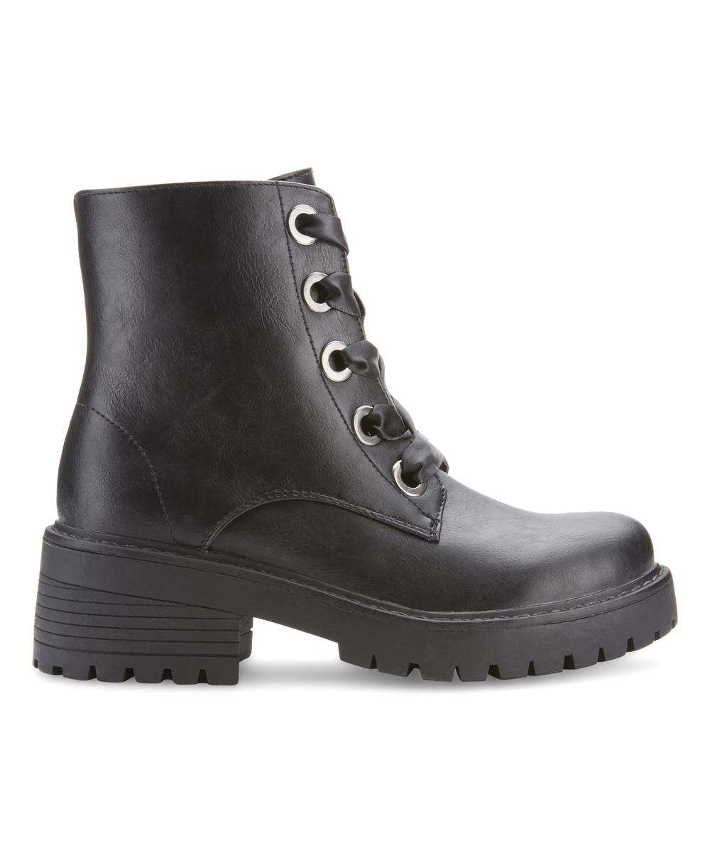 fd1458df6249 love this product Black Kodiak Chunky Heel Combat Boot - Women